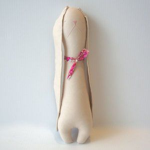 H Luv Cotton Wool Rabbit Plush Doll Toy Baby Gift